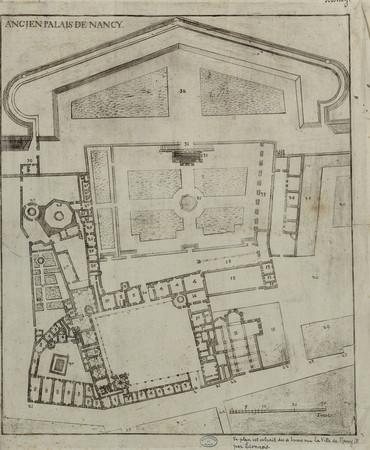 Ancien palais de Nancy