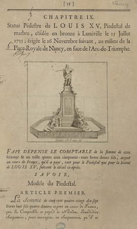 Statue de Louis XV