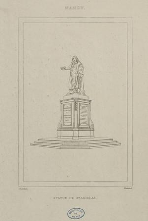 Statue de Stanislas, Nancy