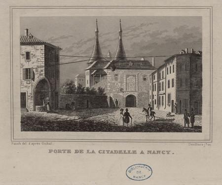 Porte de la citadelle à Nancy