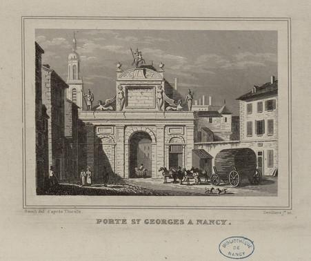 Porte S[ain]t Georges à Nancy : 148