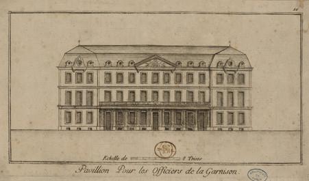 Pavillon Pour les Officiers de la Garnison