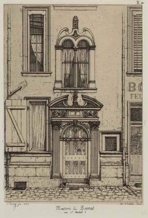 Maison de Bornet rue S[ain]t-Michel 5