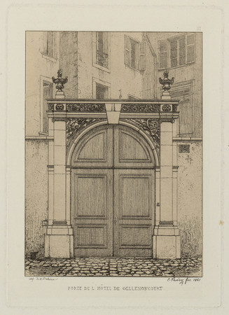 Porte de l'hôtel de Gellenoncourt