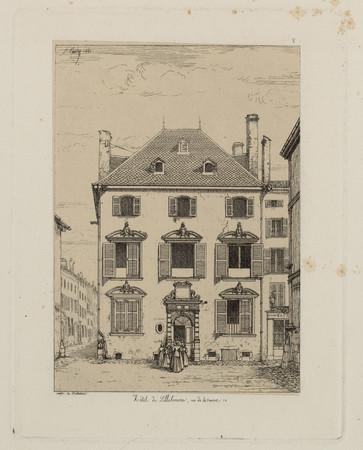 Hôtel de Lillebonne, rue de la source 14