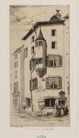 Maison au boulet, g[ran]de rue (ville-vieille) 83