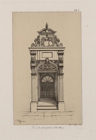 Porte de la maison grande rue (Ville-Vieille), 92