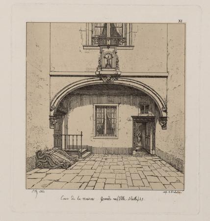 Cour de la maison grande rue (Ville-Vieille) 29