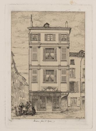 Maison place Saint-Epvre, 7
