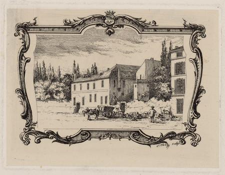 Pensionnat Saint Léopold en démolition