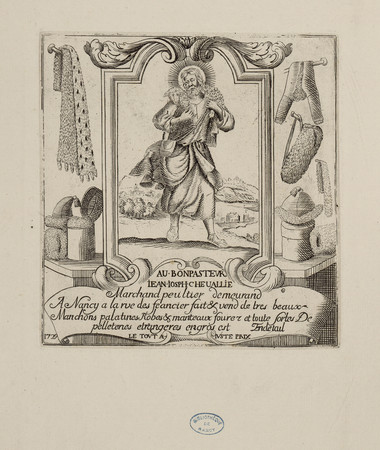 Au Bonpasteur, Jean Josph Chevallie