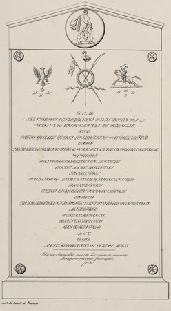 Stèle en l'honneur de Stanislas