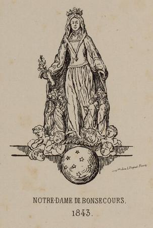 Notre Dame de Bonsecours, 1843