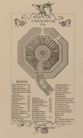 Caveau ducal. 1780