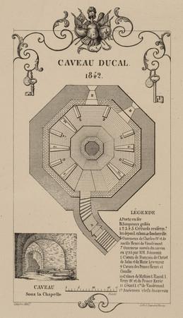 Caveau ducal. 1842
