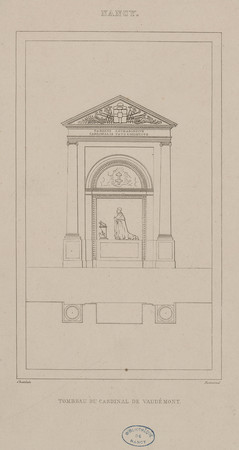 Tombeau du cardinal de Vaudémont, Nancy