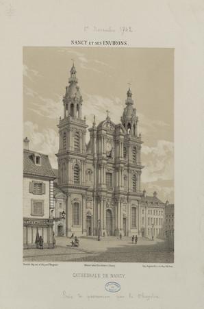 Cathédrale de Nancy : Nancy et ses environs
