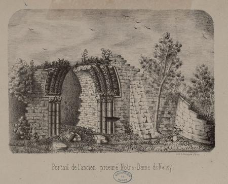 Portail de l'ancien prieuré Notre Dame De Nancy
