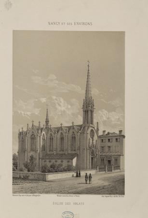 Église des Oblats : Nancy et ses environs