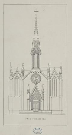 Face principale [de l'église des Oblats]