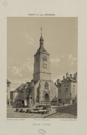 Église S[ain]t Epvre : Nancy et ses environs