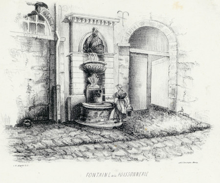 Fontaine de la poissonnerie