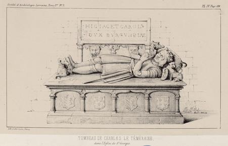 Tombeau de Charles le Téméraire dans l'église de S[ain]t Georges