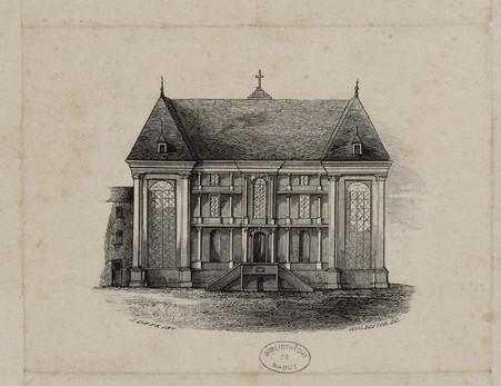 Portail de l'église paroissiale de Saint-Roch, à Nancy