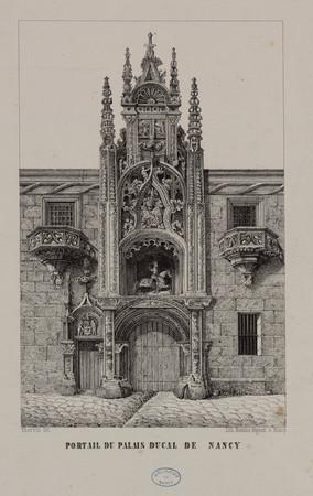 Portail du palais ducal de Nancy