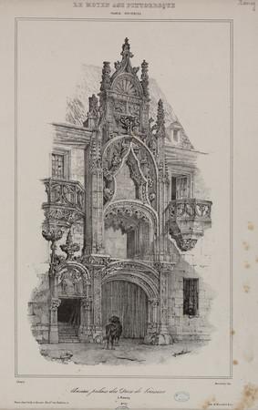 Ancien palais des Ducs de Lorraine à Nancy : France XVIe siècle, le Moyen …