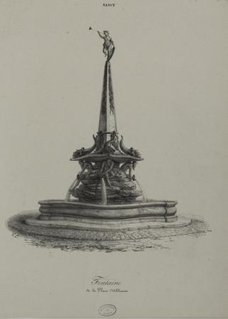 Fontaine de la place d'Alliance