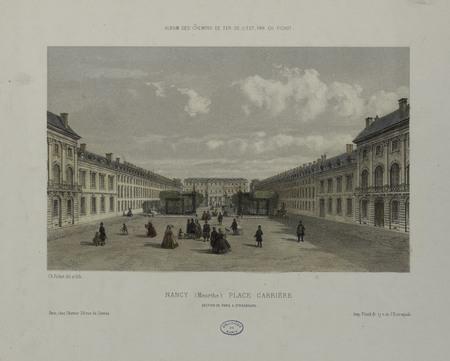 Nancy (Meurthe) Place Carrière