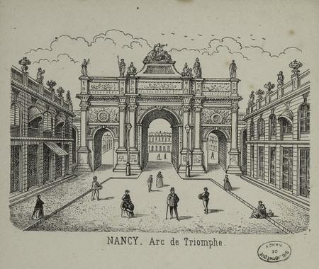 Nancy. Arc de Triomphe