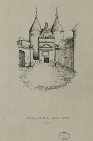 Porte intérieure Notre-Dame