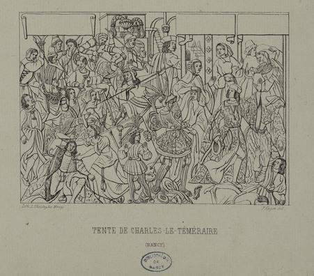 Tente de Charles-le-Téméraire (Nancy)