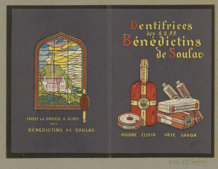 Dentifrices des R.R.P.P. bénédictions de Soulac