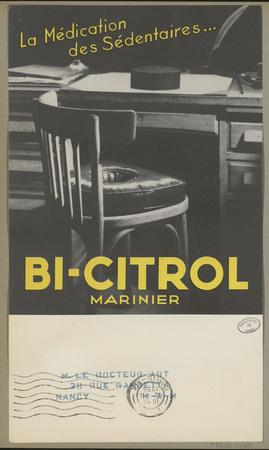 Bi-citrol Marinier : la médication des sédentaires