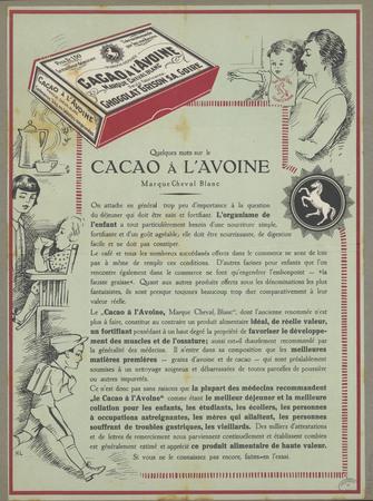 Cacao à l'avoine