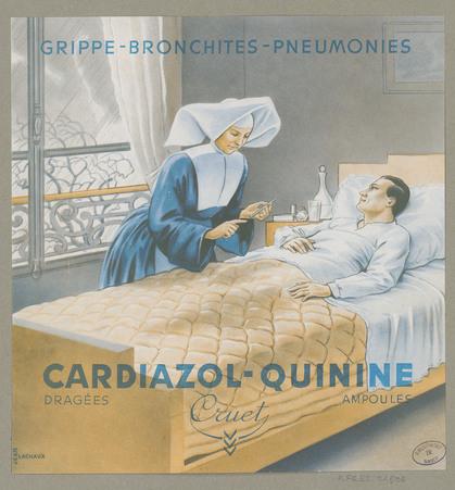 Cardiazol-Quinine