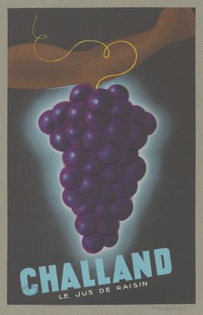 Challand : le jus de raisin