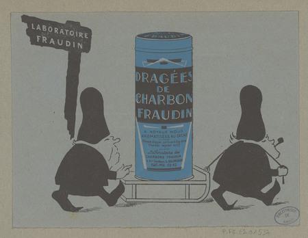 Dragées de charbon Fraudin