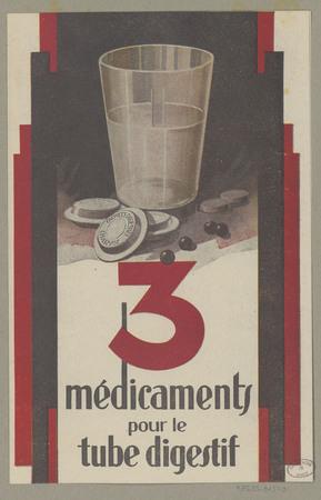 3 médicaments pour le tube digestif
