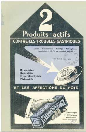 2 produits actifs contre les troubles gastriques