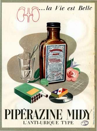 Pipérazine Midy