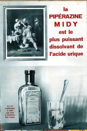 La Pipérazine Midy