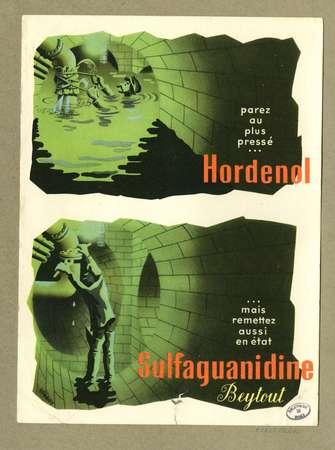 Hordenol, Sulfaguanidine