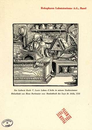 Der Leibarzt Karls V. Louis Lobera d'Avila