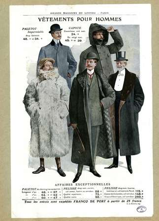 Vêtements pour hommes