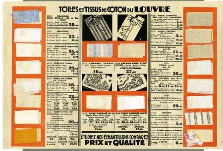 Toiles et tissus de coton du Louvre