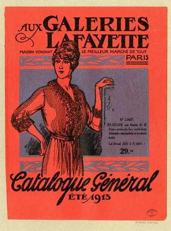 Catalogue général, été 1913